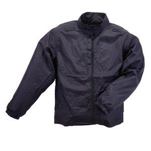 5.11 Tactical Men Packable Jacket, Black, Dark Navy