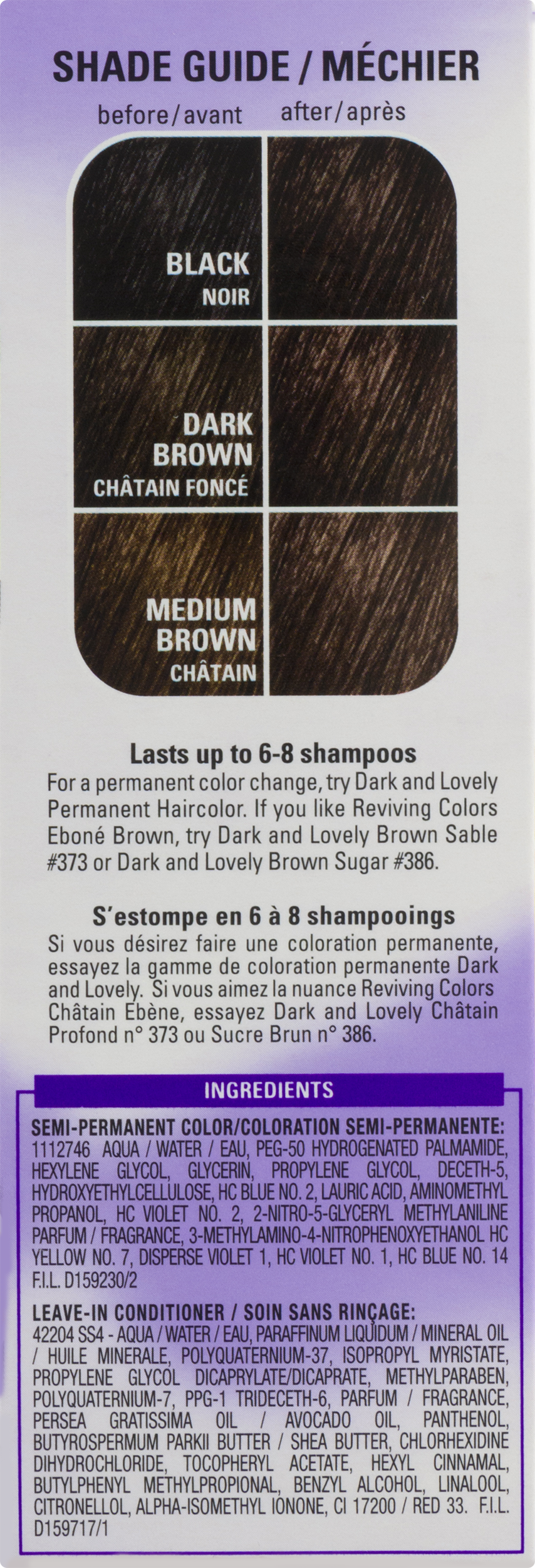 Softsheen Carson Dark And Lovely Reviving Colors Nourishing Color