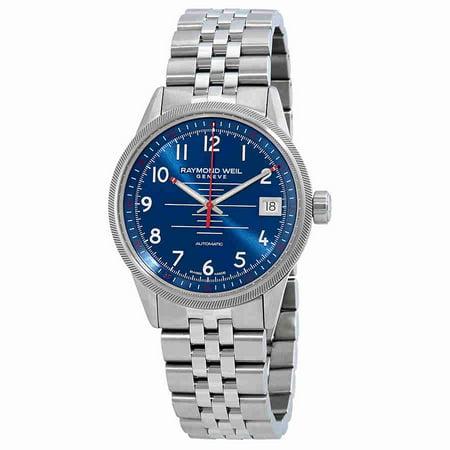 Weil Sweet - Raymond Weil Freelancer Blue Dial Automatic Mens Watch 2754-ST-05500