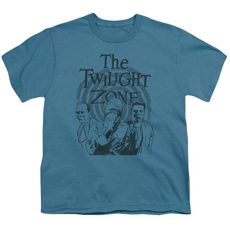 Twilight Zone - Beholder - Youth Short Sleeve Shirt - (Eye Of The Beholder Twilight Zone Original)