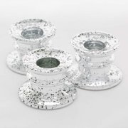 Richland Taper Candle Holder Athena Silver Set of 12