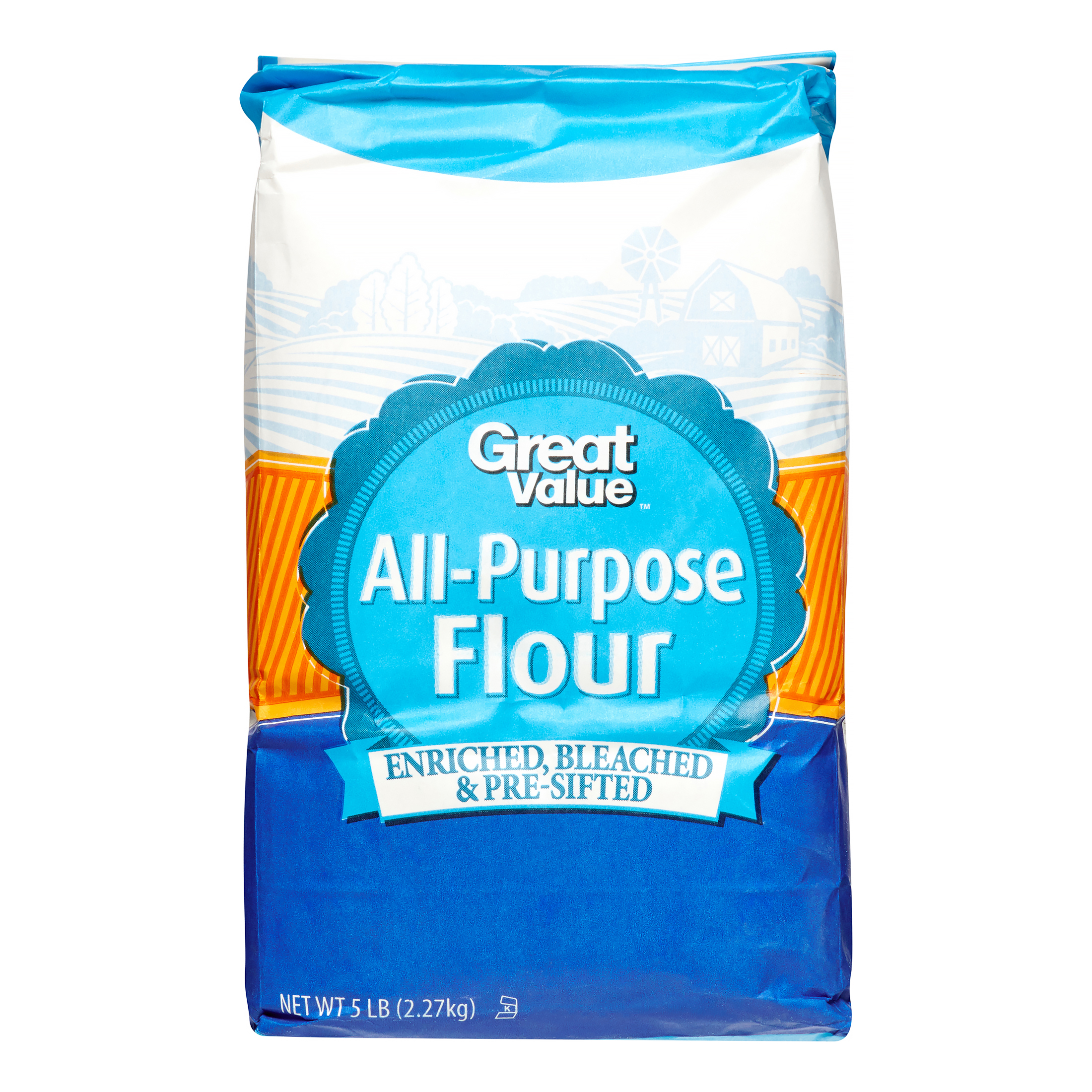 Great Value All Purpose Flour 5 Lb Walmart Com
