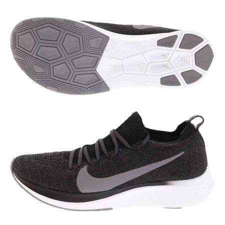NIKE nkAR4562 081 8 Zoom Fly Flyknit Women's Running Shoe Black/Gunsmoke-White 8.0
