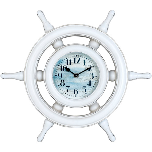Better Homes And Gardens Captains Wheel Clock