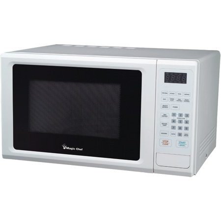 Magic Chef(R) MCM1110W 1.1 Cubic-ft, 1,000-Watt Microwave with Digital Touch