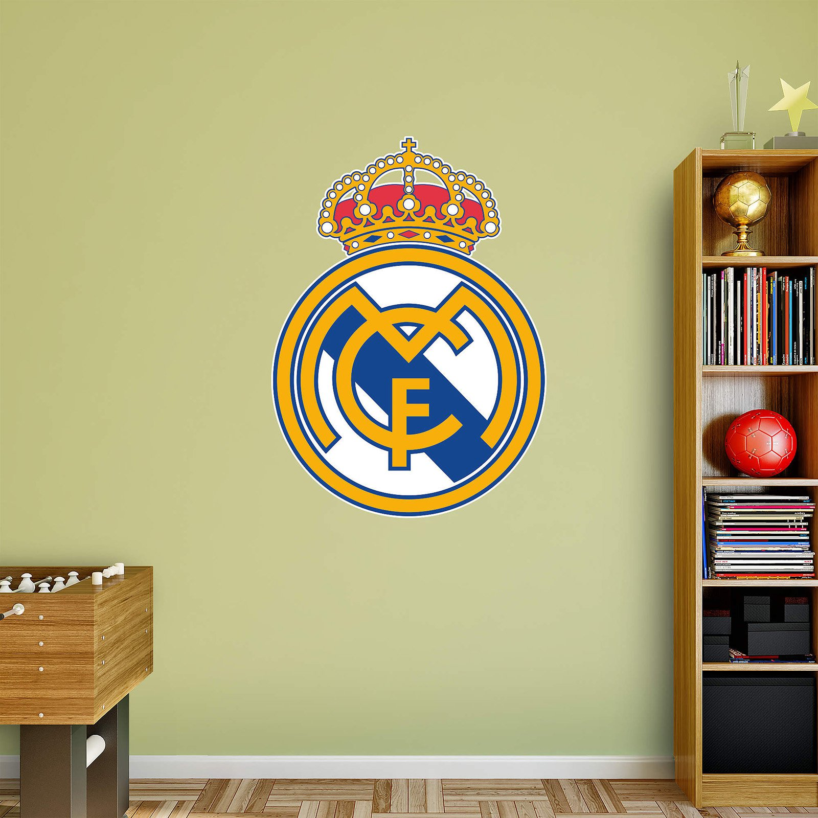Fathead Real Madrid Logo Wall Decal - Walmart.com