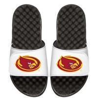 Iowa State Cyclones ISlide Youth Mascot Slide Sandals - White