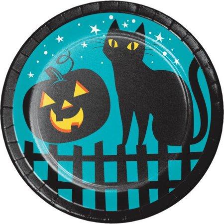 Creative Converting Pumpkin Patch Dessert Plates, 8 ct - Halloween Pumpkin Dessert Ideas