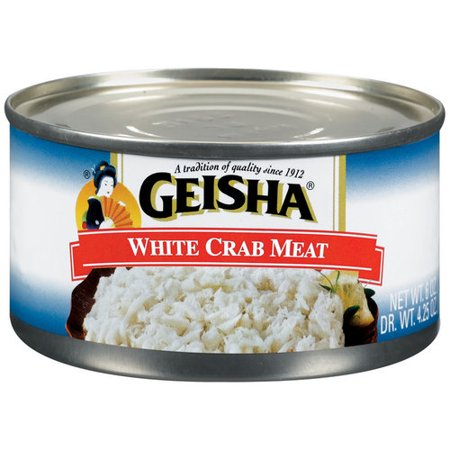 (3 Pack) Geisha White Crab Meat, 6 oz Can