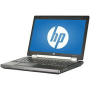 """Refurbished HP EliteBook 8570W 15.6"""" Laptop, Windows 10 Pro, Intel Core i7-3720QM Processor, 16GB RAM, 240GB Solid State Drive"""