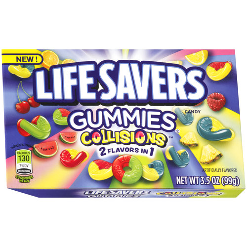 Life Savers/Gummies Collisions Chewy Candy, 3.5 oz