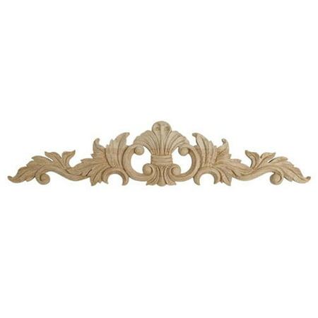 American Pro Decor 5APD10391 Large Carved Wood - Hand Carved Wood Applique