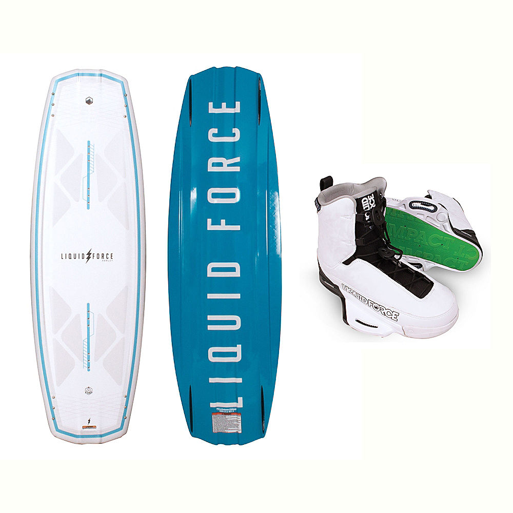 Liquid Force Harley Classic Wakeboard With Tao Bindings 2017 by Liquid Force