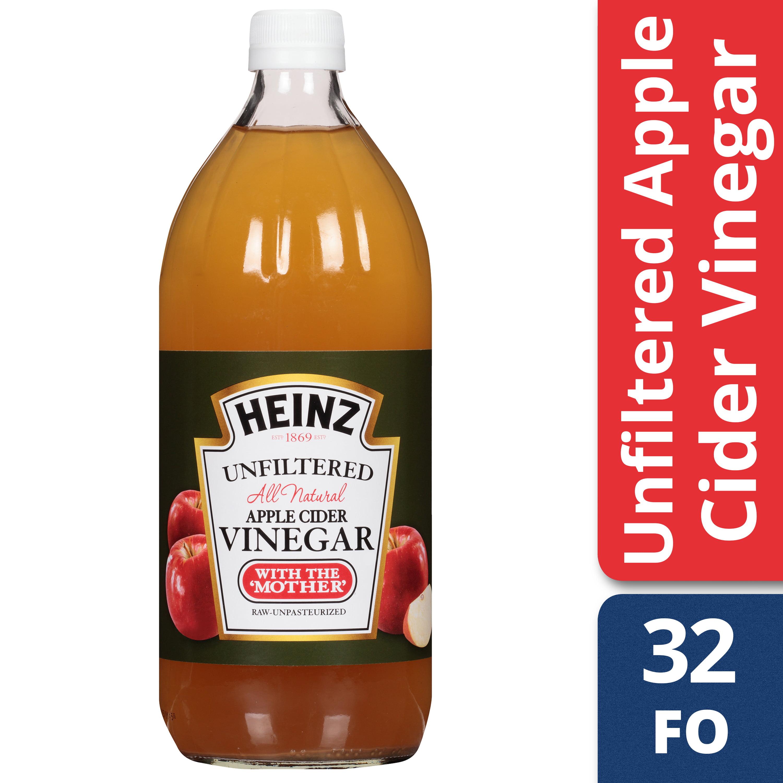 Heinz Apple Cider Vinegar Unfiltered 32 fl oz Bottle