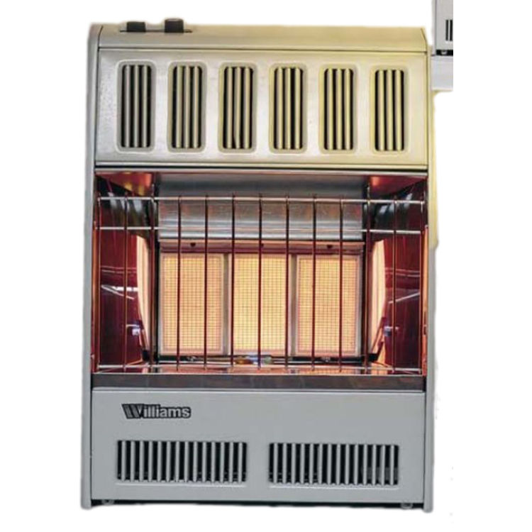 Williams 0556542 Natural Gas Gas Infrared Plaque Heater