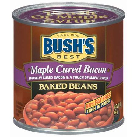 Bushs Best Maple Cured Bacon Baked Beans, 16 oz   Shop Your Way ...