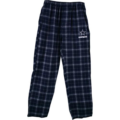 Nfl Men S Dallas Cowboys Plaid Flannel Lounge Pants