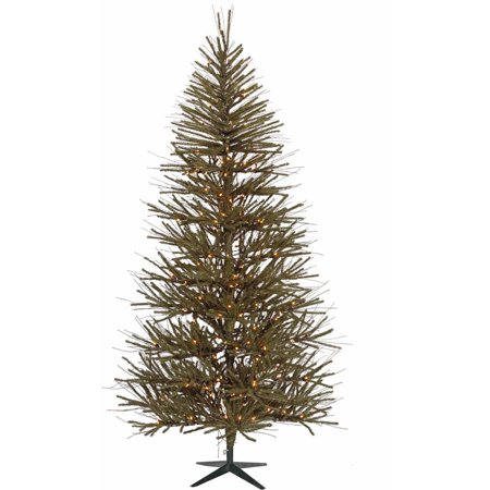 Vickerman 8' Vienna Twig Artificial Christmas Tree with 400 Warm White LED Lights ()