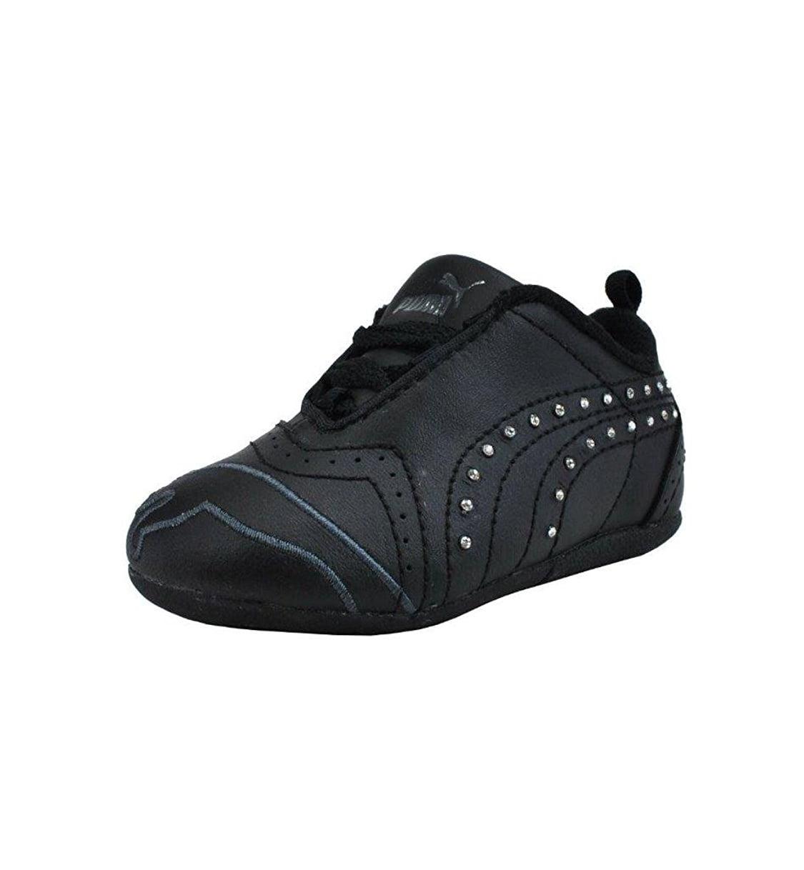 black puma trainers girls