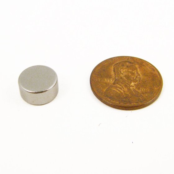4pc Rare Earth Magnets Extra Hold Neodymium Magnet 3lbs Strength