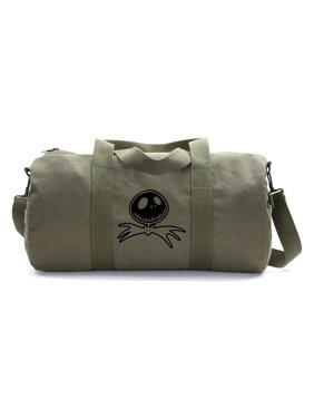 97a9dfeeb Product Image Jack Nightmare Before Christmas Bat Army Heavyweight Canvas  Duffel Bag