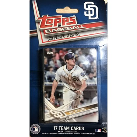 San Diego Padres 2017 Topps Factory Sealed Special Edition 17 Card Team Set with Wil Myers and Yangervis Solarte Plus