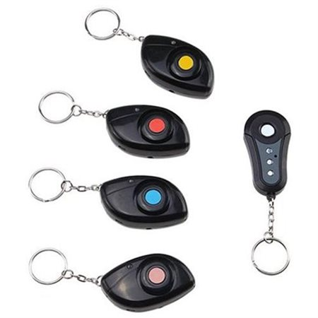 Wireless 4 In 1 RF Remote Control Key Keychain Locator Finder Transmitter Receiver With No Radiation Protection