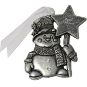 Gloria Duchin Birthstone Snowman Ornament