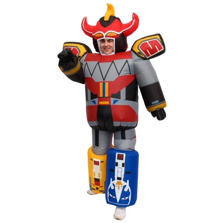Inflatable Power Rangers Megazord Costume for - Power Rangers Costume For Adults