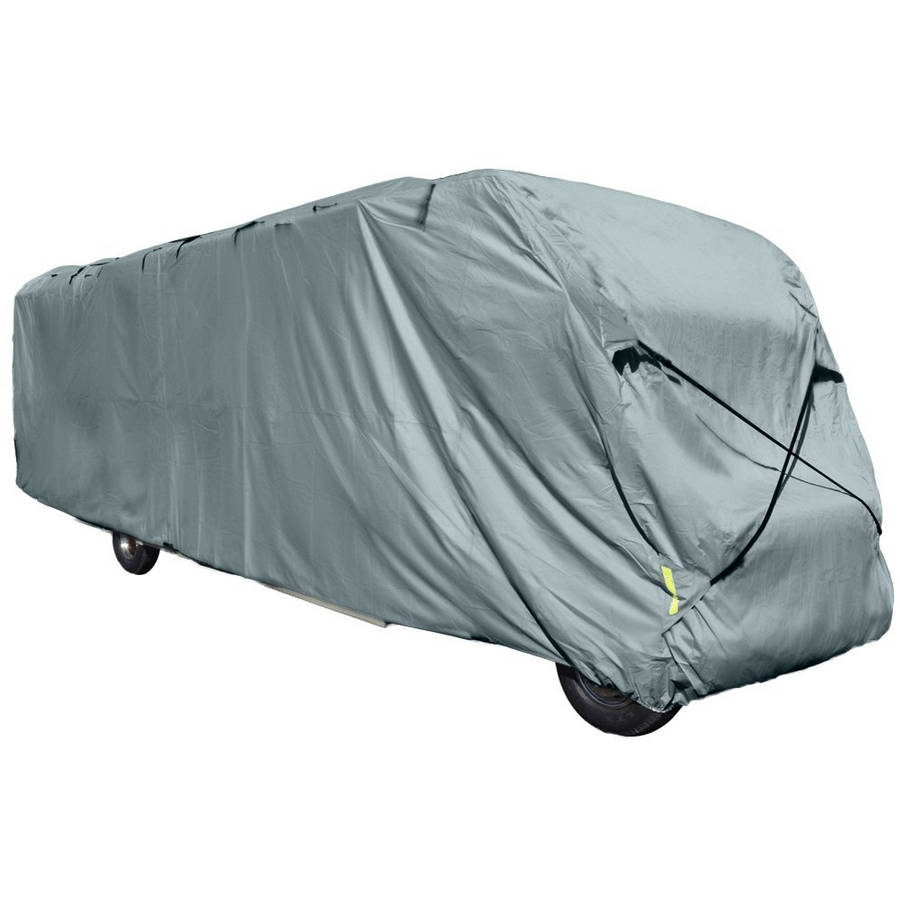 Budge Standard Class A RV Cover, Water-Resistant, Grey Polypropylene