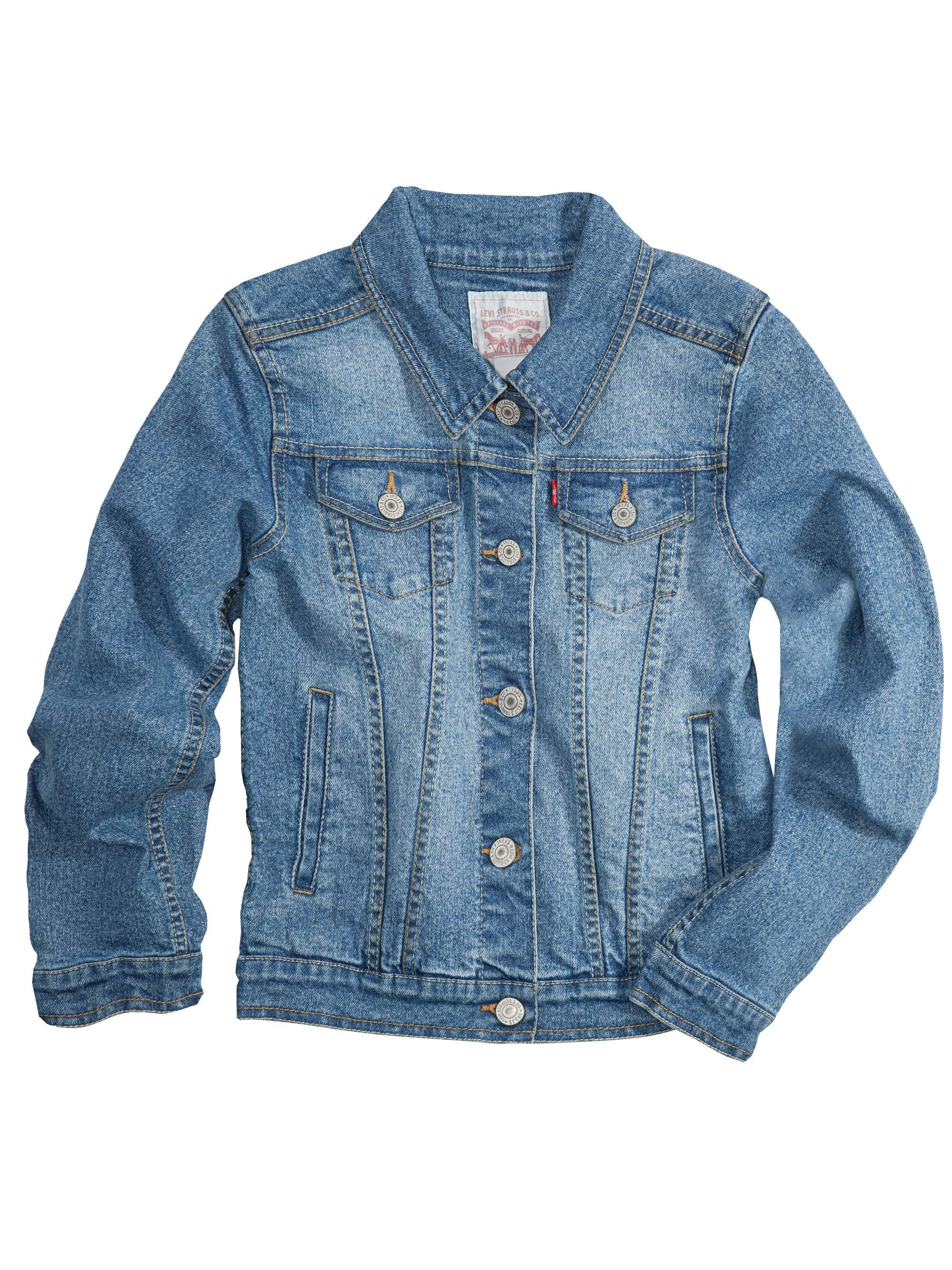 Trucker Denim Jacket (Little Girls & Big Girls)