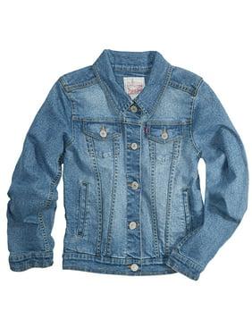fb851230f Product Image Trucker Denim Jacket (Little Girls & Big Girls)
