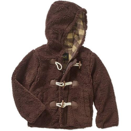 iXtreme Little Boys' Sherpa Duffle Jacket