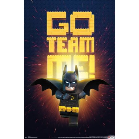 Lego Batman - Team Me Poster - 22.5x34