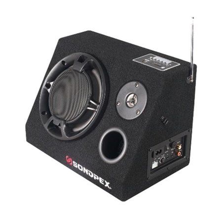 Personal Active Speaker System - Sondpex CSF-E65B Bluetooth Active Speaker System - AM, FM Radio & Digital Player
