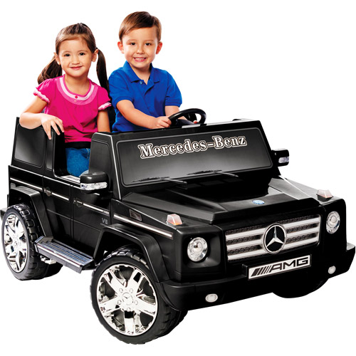 Kid Motorz 12V Mercedes Benz G55 in Black