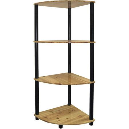 Ore International 4-Tier Corner Bookshelf ()