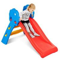 Costway Children Kids Junior Folding Climber Play Slide Indoor Outdoor Toy Easy Store
