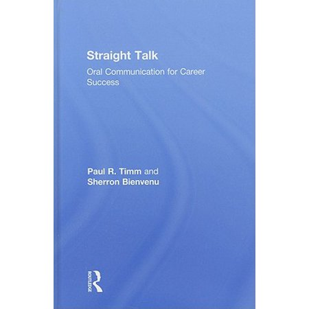 Straight Talk : Oral Communication for Career Success