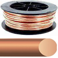 SOUTHWIRE COMPANY 10632802 Building Wire,Bare Copper,8 AWG,500ft