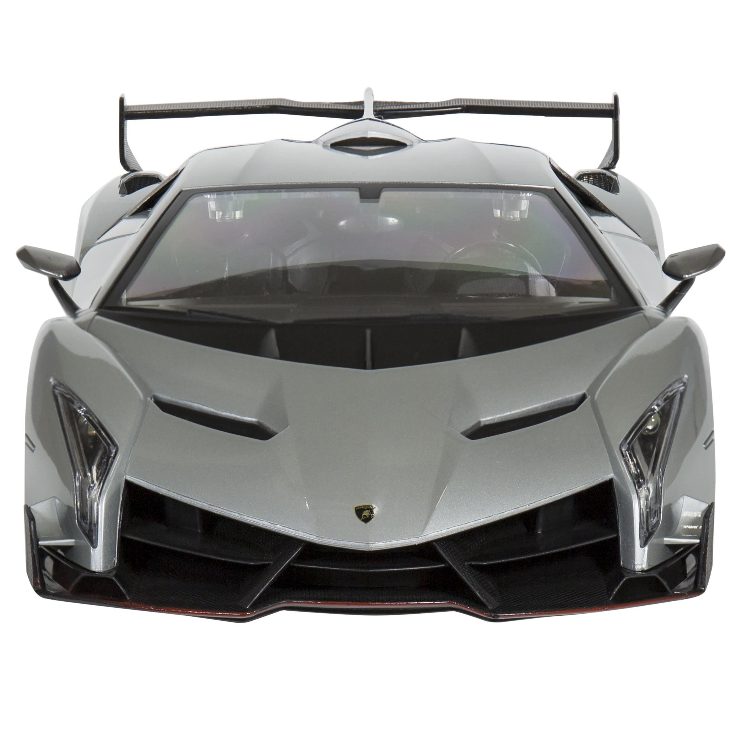 Cars silver racer poster 2 - Best Choice Products 1 14 Scale Rc Lamborghini Veneno Gravity Sensor Radio Remote Control Car Silver Walmart Com