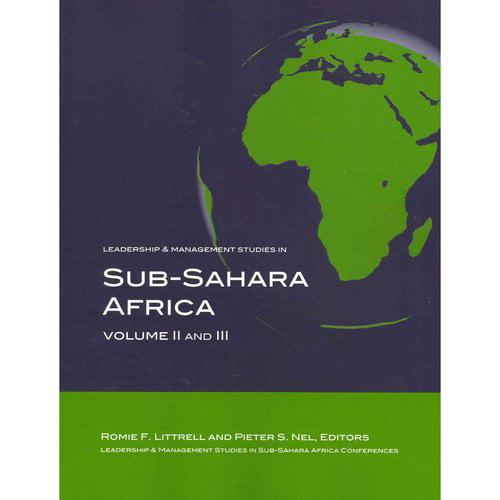 Leadership & Management Studies in Sub-Sahara Africa
