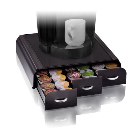 Coffee Pod Holder 36 K Cup Storage Rack Cups Drawer Organizer Keurig Black