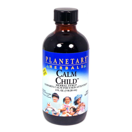 Planetary Herbals Calm Child Herbal Syrup, 4 Fl