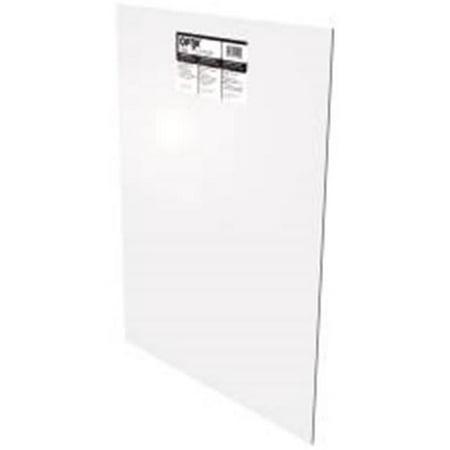Plaskolite 672211 plaskolite acrylic sheet 36 in x 36 in for Craft plastic sheets walmart