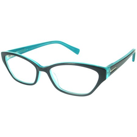 Nolita Mood Womens Rx-able Eyeglass Frames, Black Blue ...