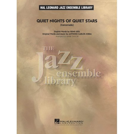 Hal Leonard Quiet Nights Of Quiet Stars  Corcovado  Jazz Band Level 4 Arranged By Mark Taylor