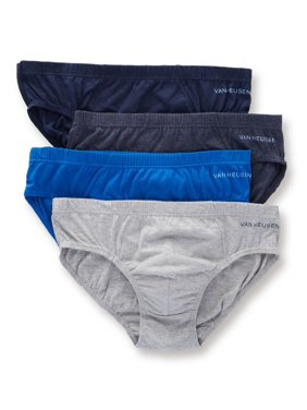 Product Image Men s Van Heusen 183PB19 Air Low Rise Cotton Briefs - 4 Pack d4e6a1975e9