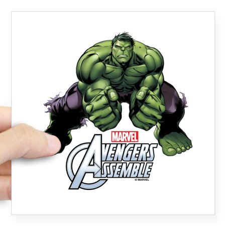 CafePress - Hulk Fists Square Sticker 3