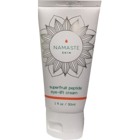 Namaste Skin Super-Fruit Peptide Eye-Lift Cream; Reduce Crow's Feet and Wrinkles Around The Eyes While Reducing Dark Circles and Sagging Skin - 30ml Tube of Super-Fruit Antioxidant Peptide